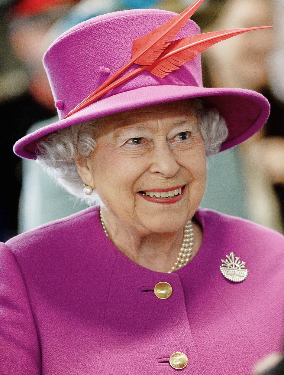 Her Majesty the Queen Visits HMS Ocean in Plymouth